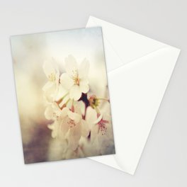 White Poppy Grudge Stationery Cards