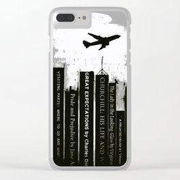 Cold Reading Clear iPhone Case