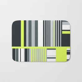 Funky fresh interior and fashion prints Bath Mat