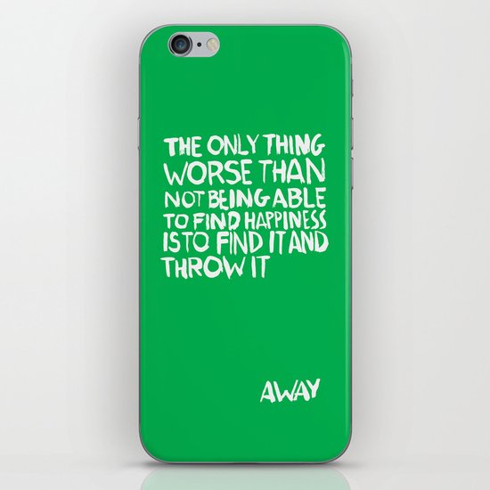 ...Away (Vers. 2) iPhone & iPod Skin