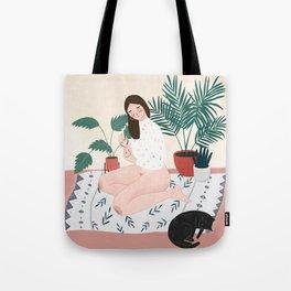 Weekend Vibing Tote Bag