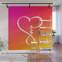 You are the Rainbow of my Heart Wall Mural