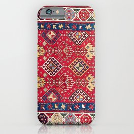Caucasian Azerbaijan South Caucasus Long Rug Print iPhone Case