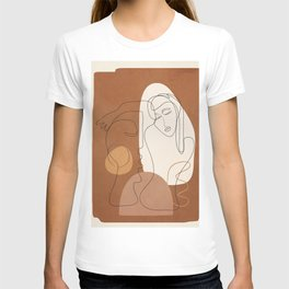 Abstract Profile 8 T-shirt