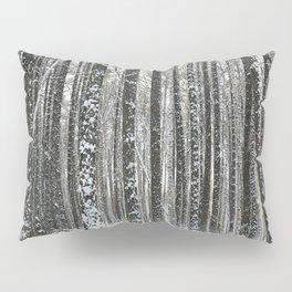 White trees-winter forest Pillow Sham