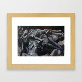 The Forgotten Pile Framed Art Print