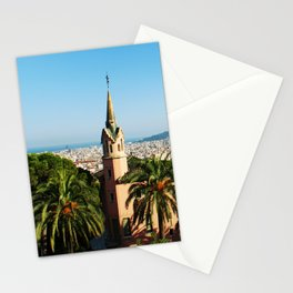 Barcelona architecture Stationery Cards