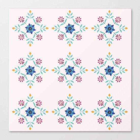 Floral Pattern #3 Canvas Print