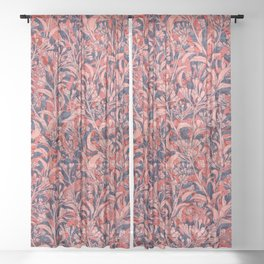 abundance (variant 7) Sheer Curtain