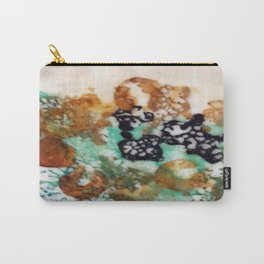 Lost Chromosome - Mixed Media Beeswax Encaustic Abstract Modern Art, 2015 Carry-All Pouch