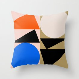 Abstract Art II Throw Pillow