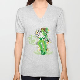 Soldier of Thunder and Courage Unisex V-Neck
