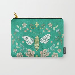 Bee Garden Carry-All Pouch