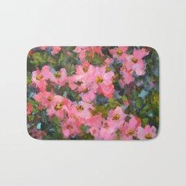 Spring Apple Blossoms Bath Mat