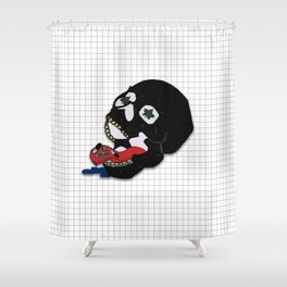 Asphyxiate All Your Pain Away. Shower Curtain