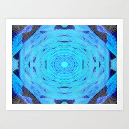Hydro Nebula Art Print