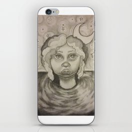 Doe eyed iPhone Skin
