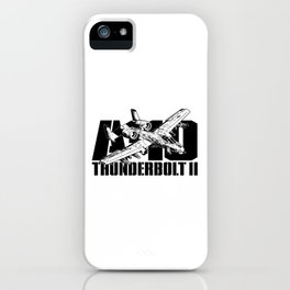 A-10 Thunderbolt II iPhone Case