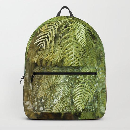 Green Tree. Vegetal Photography Backpack