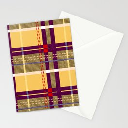 Whatever Plaid Stationery Cards