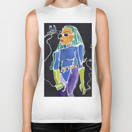 Hummingbird Bitch Biker Tank