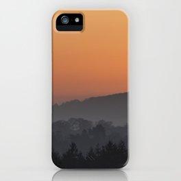 The Setting Sun iPhone Case