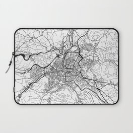 Bern Map Gray Laptop Sleeve