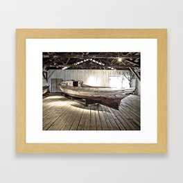 Chesapeake Workboat Framed Art Print