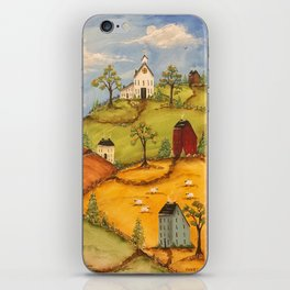 The 4 Hills iPhone Skin