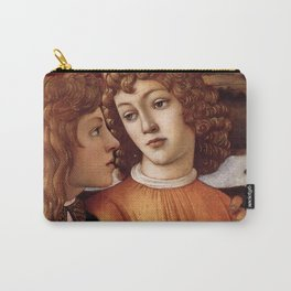 Sandro Botticelli - Angels 3. detail Carry-All Pouch