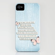 Reiki Principles No.1 iPhone (4, 4s) Slim Case
