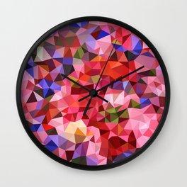 Glitter background  Wall Clock