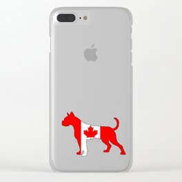Canada Boxer Clear iPhone Case