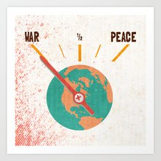Low On Peace Art Print