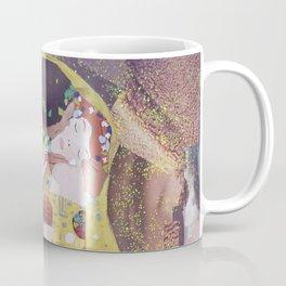 THE KISS COLLAGE. GUSTAV KLIMT. Coffee Mug