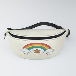 Meeple Rainbow Rain Fanny Pack
