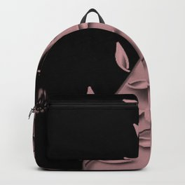 Bridal Rose Floral Abstract Backpack