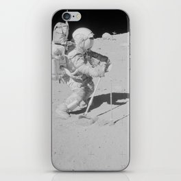 Apollo 16 - Collecting Lunar Samples iPhone Skin