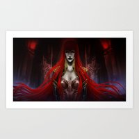 Queen Carmilla Art Print