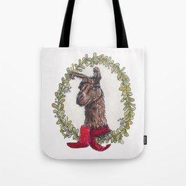 No Drama Holiday Llama Tote Bag