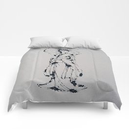 Splaaash Series - Kimono Girl Ink Comforters