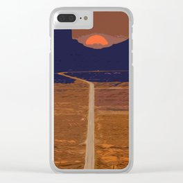 Arizona, Monument Valley Clear iPhone Case
