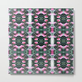Candy Coated Roses small Metal Print