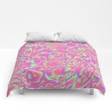 Turbulence in Tutti Fruitti Comforters