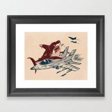 West Side Rumble Framed Art Print