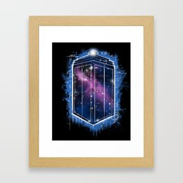 Time, Space, and Graffiti  Framed Art Print