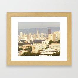 San Francisco III Framed Art Print