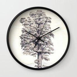 L'Illustration horticole Wall Clock