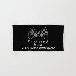 Video Game Enthusiast Hand & Bath Towel