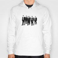 reservoir dogs Hoodies featuring Reservoir Dogs by Jason Vaughan